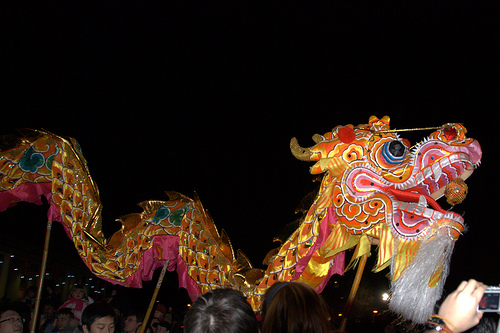Chinese Dragon (Photo: Michael Stringer)