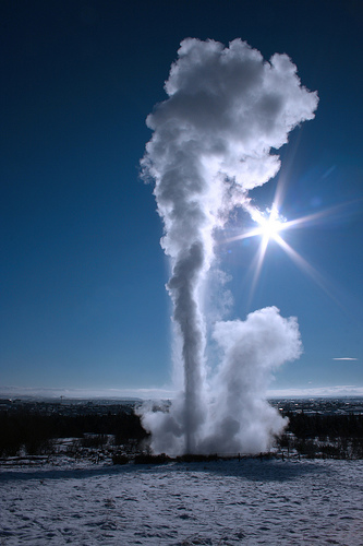 The Pearl's geyser (photo: Thorlakur)