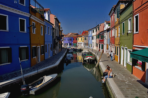 Burano houses (photo: lpiepiora)