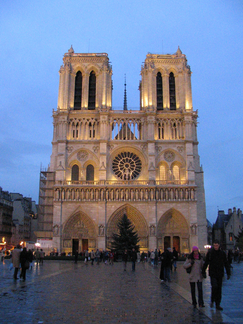 Notre Dame (photo: Peter Kaminski)