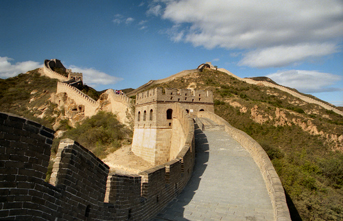 The Great Wall of China (photo: exfordy)