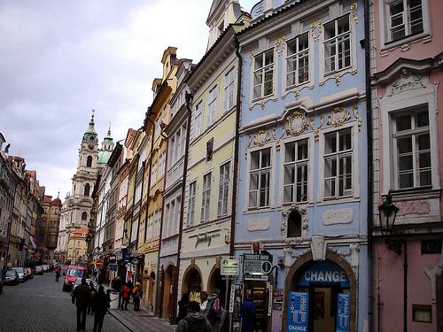 Praha: Mostecká (photo: Jean & Nathalie)