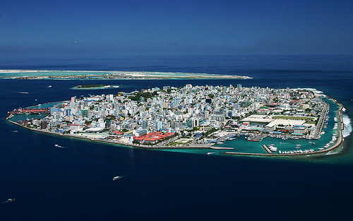 Man-made - Malé, Maldives (photo: Trodel)