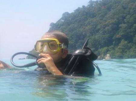 Instructeur de plongée PADI  CMAS Genève et Suisse romande