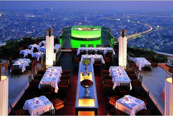 Terrasse Hotel Lebua State Tower Bangkok