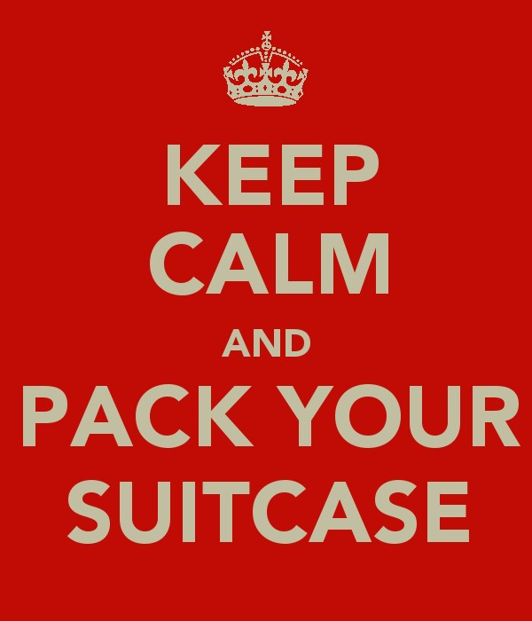 Keep Calm and Pack Your Suitcase