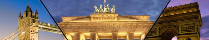 Londres, Paris ou Berlin, offre rabais hôtels à 50%