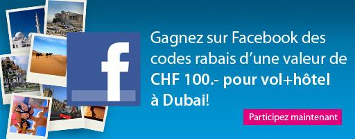Jeu concours ebookers.ch sur facebook