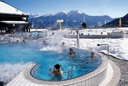 Wellness mon tour de suisse des bains thermaux blog de for Hotel des bains saillon suisse