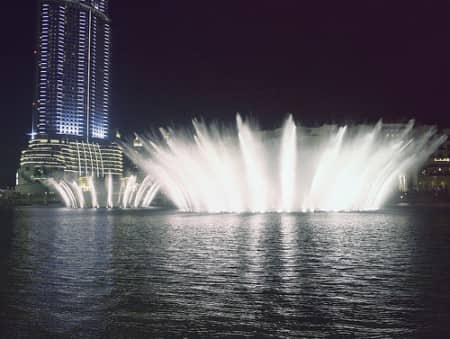 Dubai-Fountains