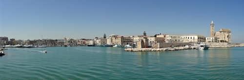A Trani, une marina idyllique
