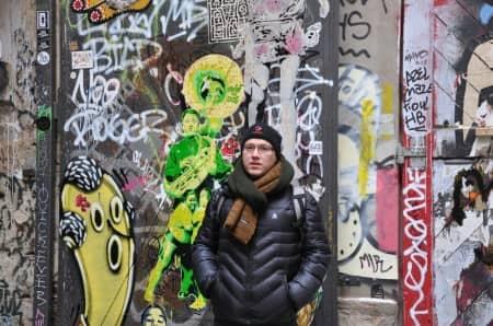Xavier Bertschy à Berlin