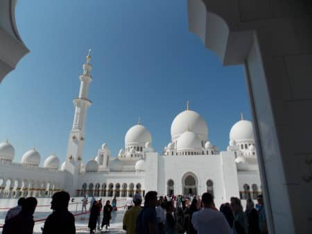 Abu Dhabi Mosque Sheikh Zayed 4 - All rights reserved