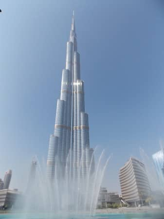 Dubai - Burj Khalifa - Copyright: all rights reserved