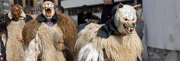 Carnaval d'Evolène, Valais, Suisse