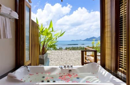 OverWaterVilla Bathroom View