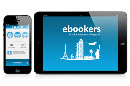 ebookers Voyages application