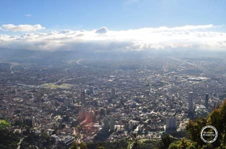 Bogotá vu depuis le Monserrate