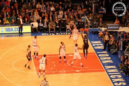 Madison Square Garden –Match des Knicks de New York