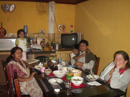 Guatemala mit Gastfamilie