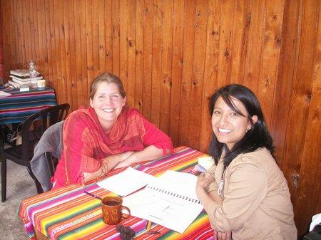 Guatemala mit Lehrerin