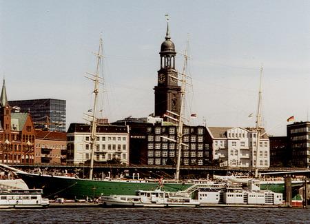 Museumsschiff Rickmer-Rickmers. Foto: B. Jäger-Dabek