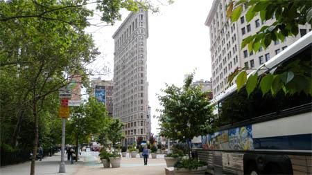Neue Ruhe vorm Flatiron Building. Alle Fotos: Ralph Hutter