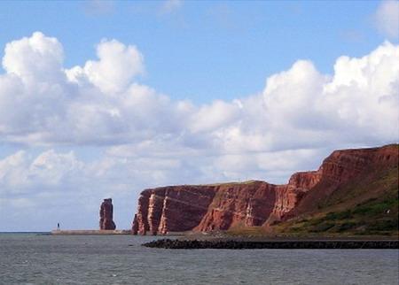 Helgoland, der rote Fels in der Nordsee. Foto: B. Jäger-Dabek