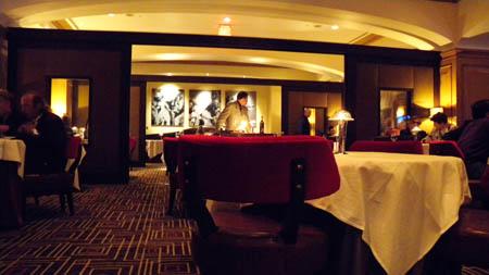 Charlie Palmers Steakhouse - stilvolles Club-Ambiente