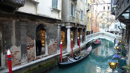 Venedig Italien Gondoliere