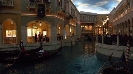 Venedig Gondoliere Venetian Casino