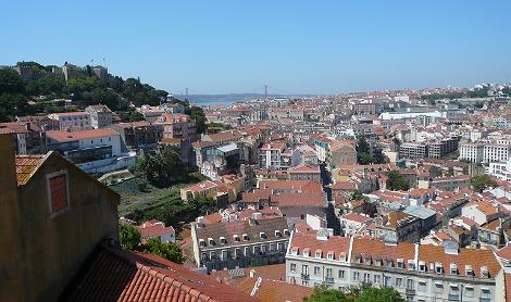 Aussicht Largo da Graca