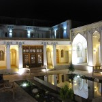 Hof vom Isfahan Traditional Hotel