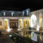 Hof vom Isfahan Traditional Hotel