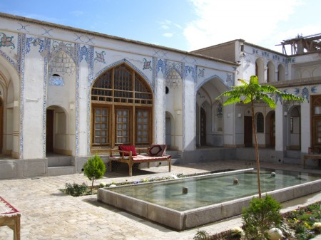 Hof des Isfahan Traditional Hotel