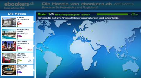 Hotel-Gewinnspiel ebookers.ch