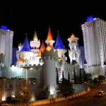 Das Hotel Excalibur.