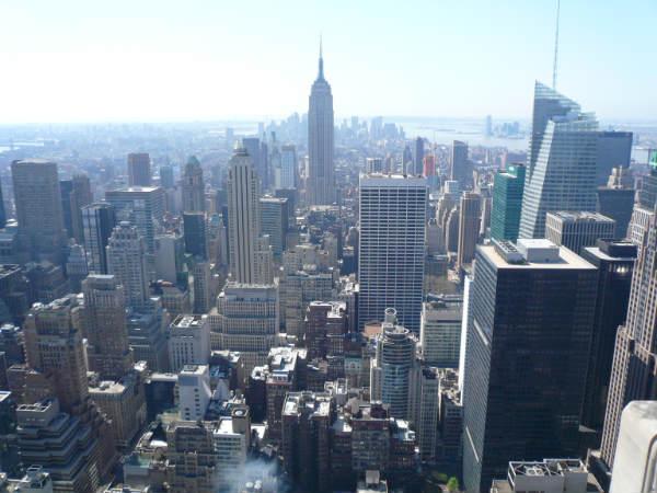 Sicht auf das Empire State Building