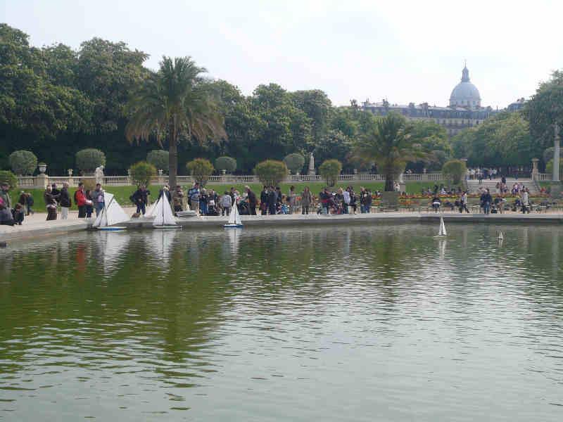 Jardin du Luxembourg_Modellboote