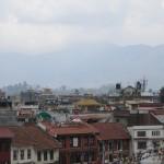 Aussicht vom Dach, Boudhanath, Kathmandu