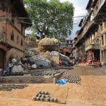 Tongefässe, Bhaktapur