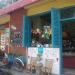 Café im Künstlerviertel