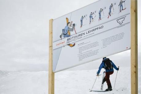 Skitourenlehrpfad