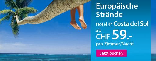 Strandferien in Europa