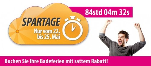 Spartage bei ebookers.ch