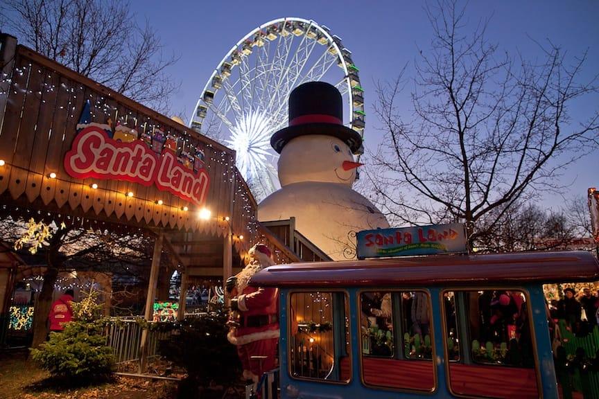 Mit dem Winter Wonderland feiert London die Vorweihnachtszeit. Foto: www.hydeparkwinterwonderland.com