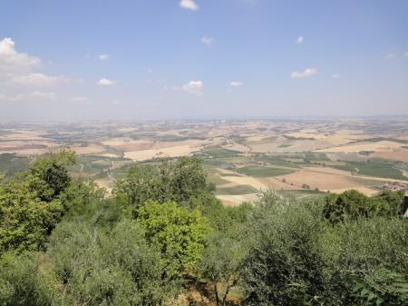 Aussicht von Montalcino.