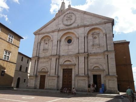 Santa Maria Assunta in Pienza.