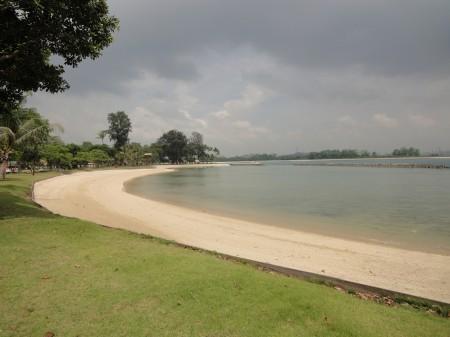 Strand auf Kusu