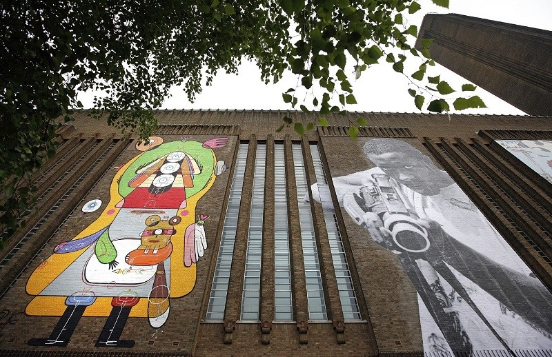 Tate Modern Launch Street art Exhibition On Building Exterior